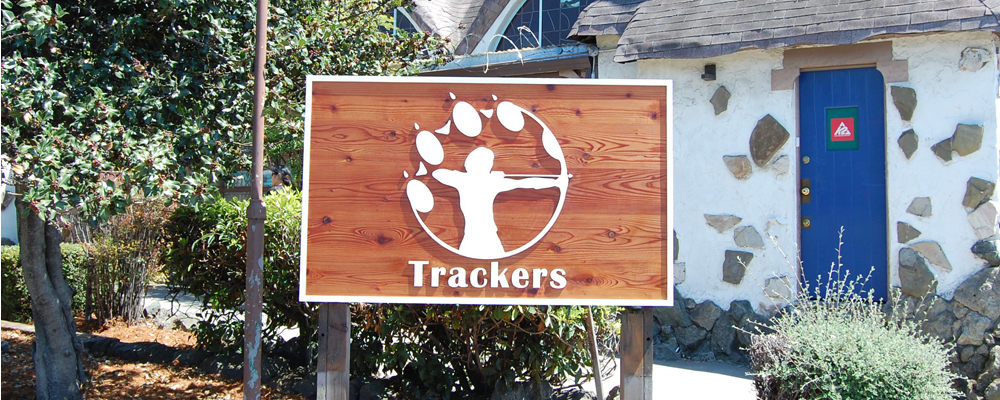 exterior solid wood sign